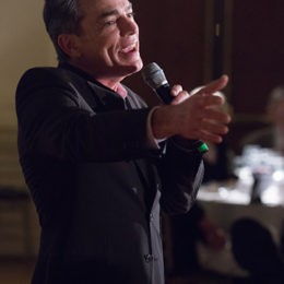 Peter Gallagher singing at 70th Anniversary Kick-Off Celebration at HB Studio, provider of NYC acting classes