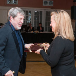Honoree Tony Walton at benefit for HB Studio, provider of acting classes in NYC