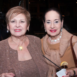 Two women at 70th Anniversary Celebration for HB Studio, provider of NYC acting classes