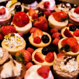 A plate of delicious treats at HB Studio