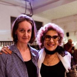 Two women at HB Studio