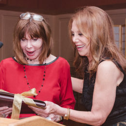 Lee Grant and Marlo Thomas at benefit for HB Studio, provider of acting classes in NYC