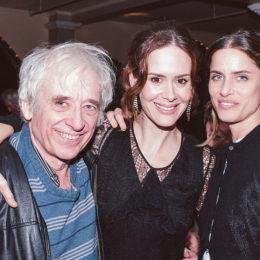 Austin Pendleton, Sarah Paulson, and Amanda Peet at benefit for HB Studio, provider of acting classes in NYC