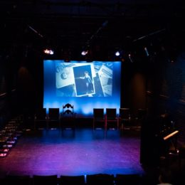 HB Studio Theatre Stage set for 90th birthday of Helen Gallagher, teacher of Singing for the Musical Theater