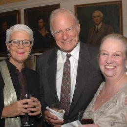 Guests at benefit for HB Studio, provider of acting classes in NYC