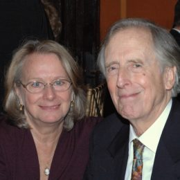 Fritz Weaver and Rochelle Oliver at benefit for HB Studio, provider of acting classes in NYC