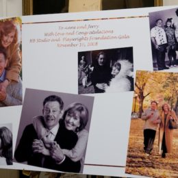 Programs and other keepsakes at benefit for HB Studio, provider of acting classes in NYC