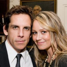 Ben Stiller and Christine Taylor at benefit for HB Studio, provider of acting classes in NYC