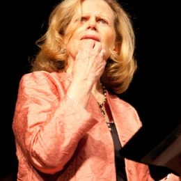 Carol Goodheart reading at benefit for HB Studio, provider of acting classes in NYC