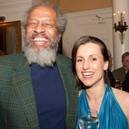 Arthur French and Julia Wolfermann at benefit for HB Studio, provider of acting classes in NYC