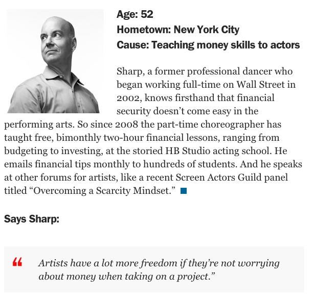 David M Sharp Money Magazine
