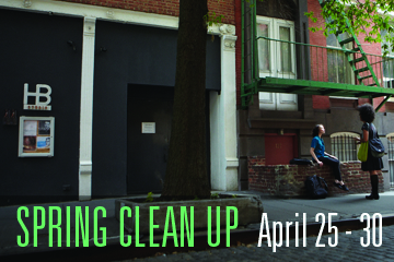 Spring Clean Up April 25-13 - Image of HB Studio Buildings