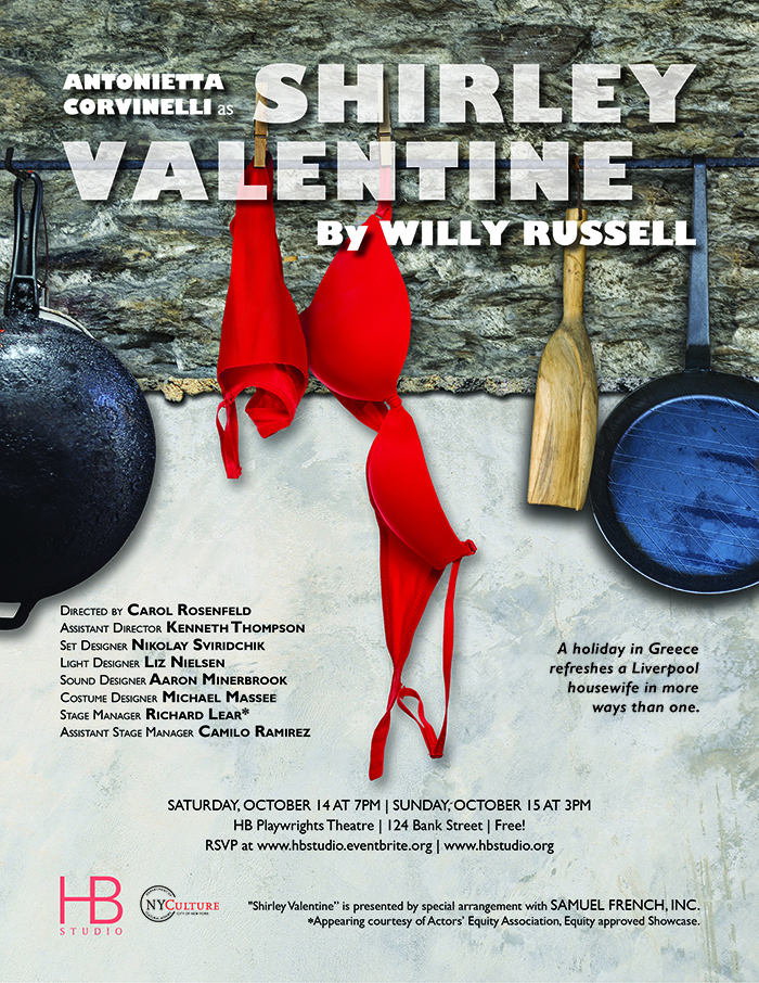 review of shirley valentine by willy russell Review of shirley valentine   willy russell's one-woman play touches hearts and politics.