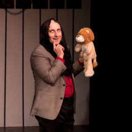 Puppeteer performing at HB Studio, provider of NYC acting classes