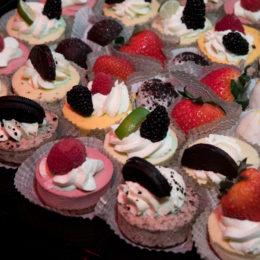 Desserts at HB Studio benefit event