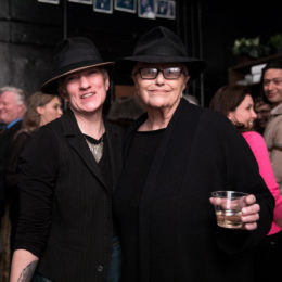 Guests at benefit for HB Studio, provider of NYC acting classes