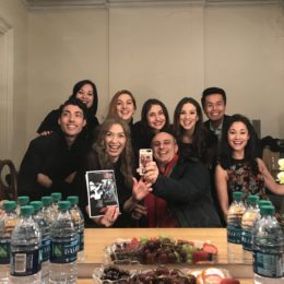 Actors Backstage at HB Studio