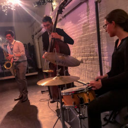 Band playing at HB Studio