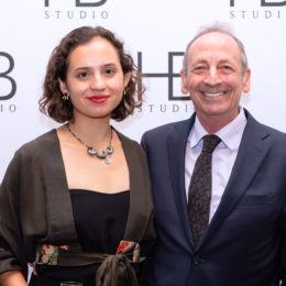 Anya and Alexander Bernstein at HB Studio's Uta Hagen at 100 Gala