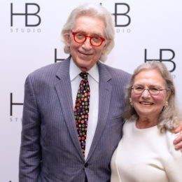 Ted and Aysa Berger at HB Studio's Uta Hagen at 100 Gala
