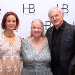 Victor Garber and family of Uta Hagen at HB Studio's Uta Hagen at 100 Gala