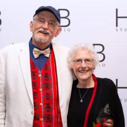 Michael Massee and Carol Rosenfeld at HB Studio's Uta Hagen at 100 Gala