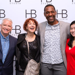 Paul Pryce and friends at HB Studio's Uta Hagen at 100 Gala