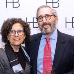 Rochelle Korman and Richard Friedman at HB Studio's Uta Hagen at 100 Gala