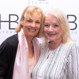 Mary Francina Golden and friend at HB Studio's Uta Hagen at 100 Gala