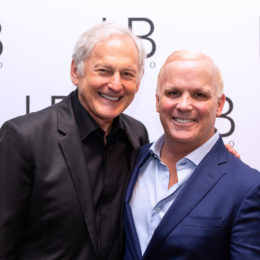 Victor Garber and Scott Ellis at HB Studio's Uta Hagen at 100 Gala