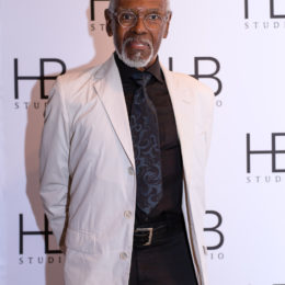 Gus Solomons jr. at HB Studio's Uta Hagen at 100 Gala