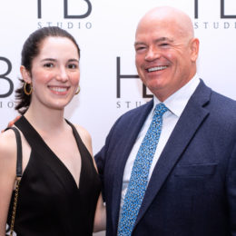 Casey and Bill Butler at HB Studio's Uta Hagen at 100 Gala