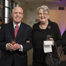 Guests of HB Studio's Uta Hagen at 100 Gala