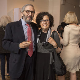 Richard Friedman and Rochelle Korman at HB Studio's Uta Hagen at 100 Gala