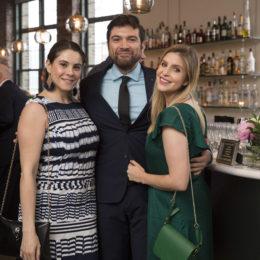 Sonia Mera, Pablo Andrade and Yessi Hernandez at the Uta Hagen at 100 Gala