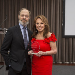 David Hyde Pierce and Marlo Thomas at HB Studio's Uta Hagen at 100 Gala