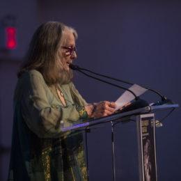 "Rochelle Oliver accepts John David Washington award ""HB Next Generation Award"""
