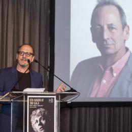 "Lonny Price Alexander Bernstein receives ""HB Community Leader Award"" at HB Studio's Uta Hagen at 100 Gala"
