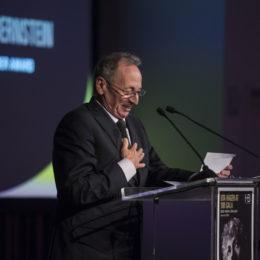 "Alexander Bernstein receives ""HB Community Leader Award"" at HB Studio's Uta Hagen at 100 Gala"