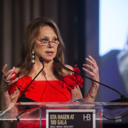 Marlo Thomas at HB Studio's Uta Hagen at 100 Gala