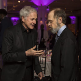 Victor Garber and David Hyde Pierce at HB Studio's Uta Hagen at 100 Gala